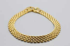 Men's 18Kt Yellow Gold Bracelet