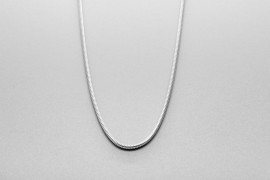 Sterling Silver S-Link Chain - 42cm