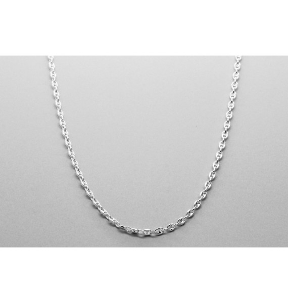 Sterling Silver Mariner Chain - 51cm