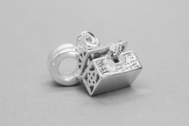 Sterling Silver Jewellery Box Charm
