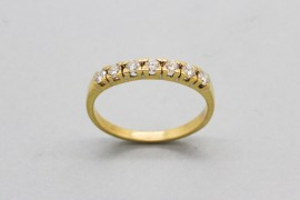 18Kt Yellow Gold Diamond Eternity Ring