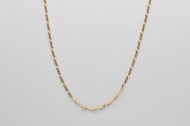18Kt Yellow Gold Figaro Chain Measuring 50cm