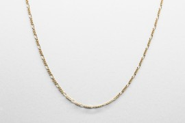18Kt Yellow Gold Figaro Chain Measuring 40cm