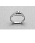 18kt White Gold Diamond Solitaire