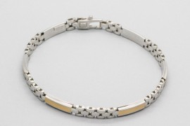18kt White & Yellow Gold Rolex Bracelet