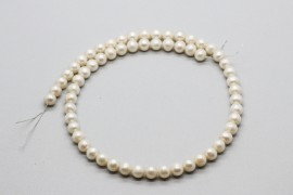 String of Fresh Water Akoya Pearls