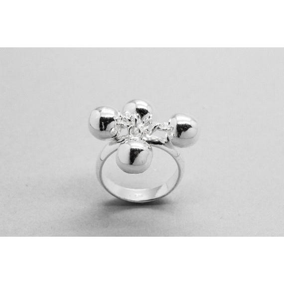 925 Sterling Silver Ball Ring